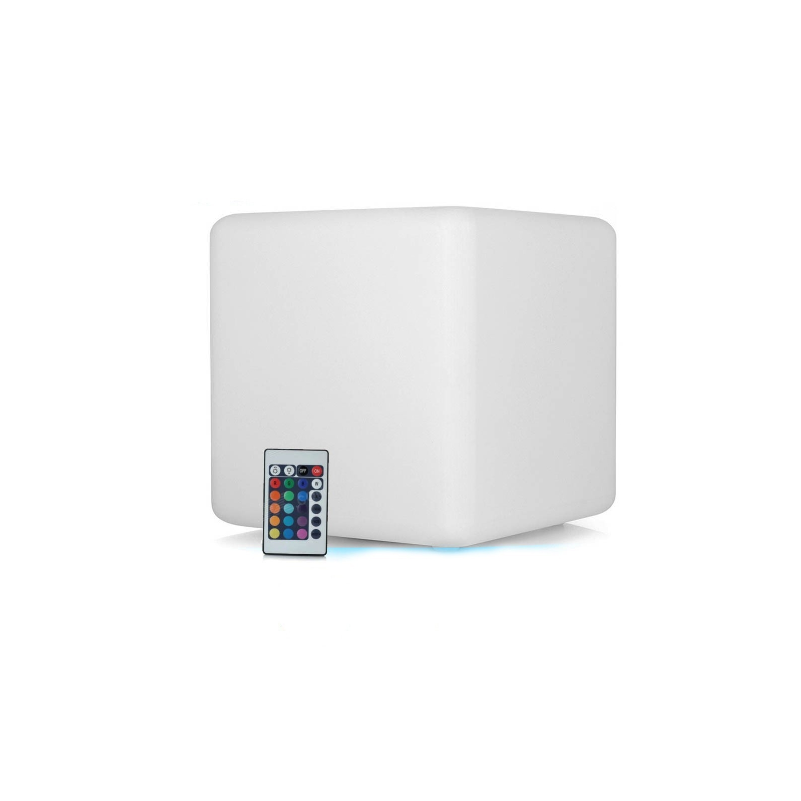 Cube LED Lumineux Multicolore 40CM Rechargeable Sans Fil