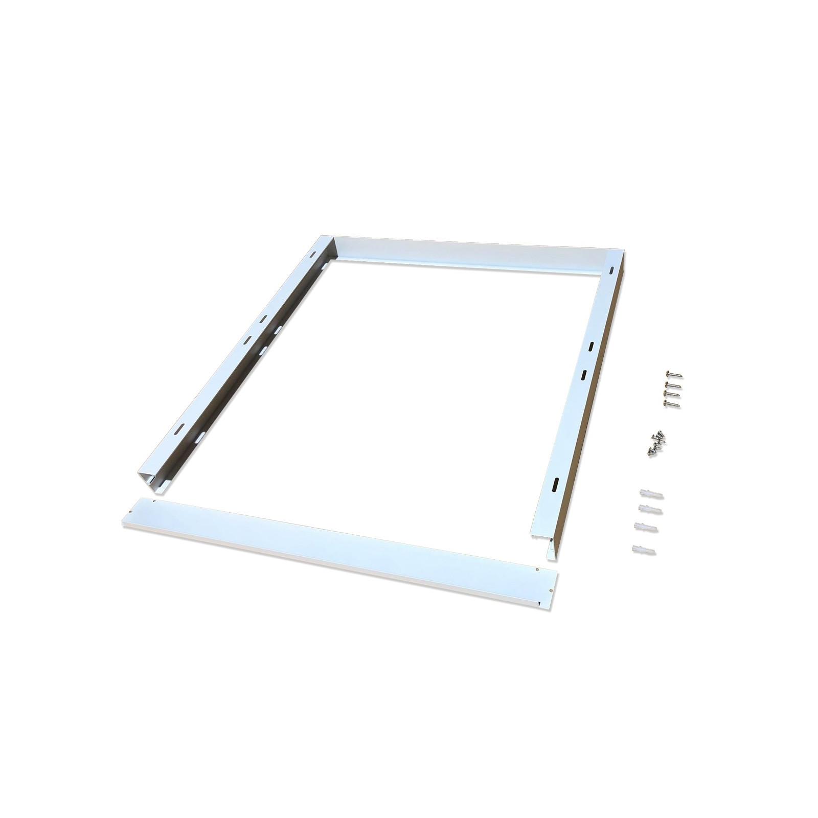 Cadre Saillie Blanc pour Dalle Led 60x60 - EuropaLamp