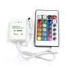 Controleur/telecommande IR 16 Bouton pour ruban LED couleur RGB 5050 OU 3528
