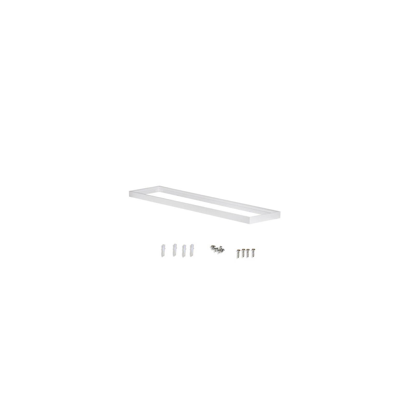 Cadre saillie blanc pour dalle 60x60cm