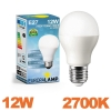Ampoule LED Culot E27 Puissance 12W Blanc Chaud 2700K