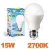 Ampoule LED Culot E27 Puissance 15W Blanc Chaud 2700K
