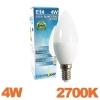 Ampoule LED E14 Flamme 4W Blanc Chaud 3000K