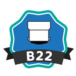 Culot B22