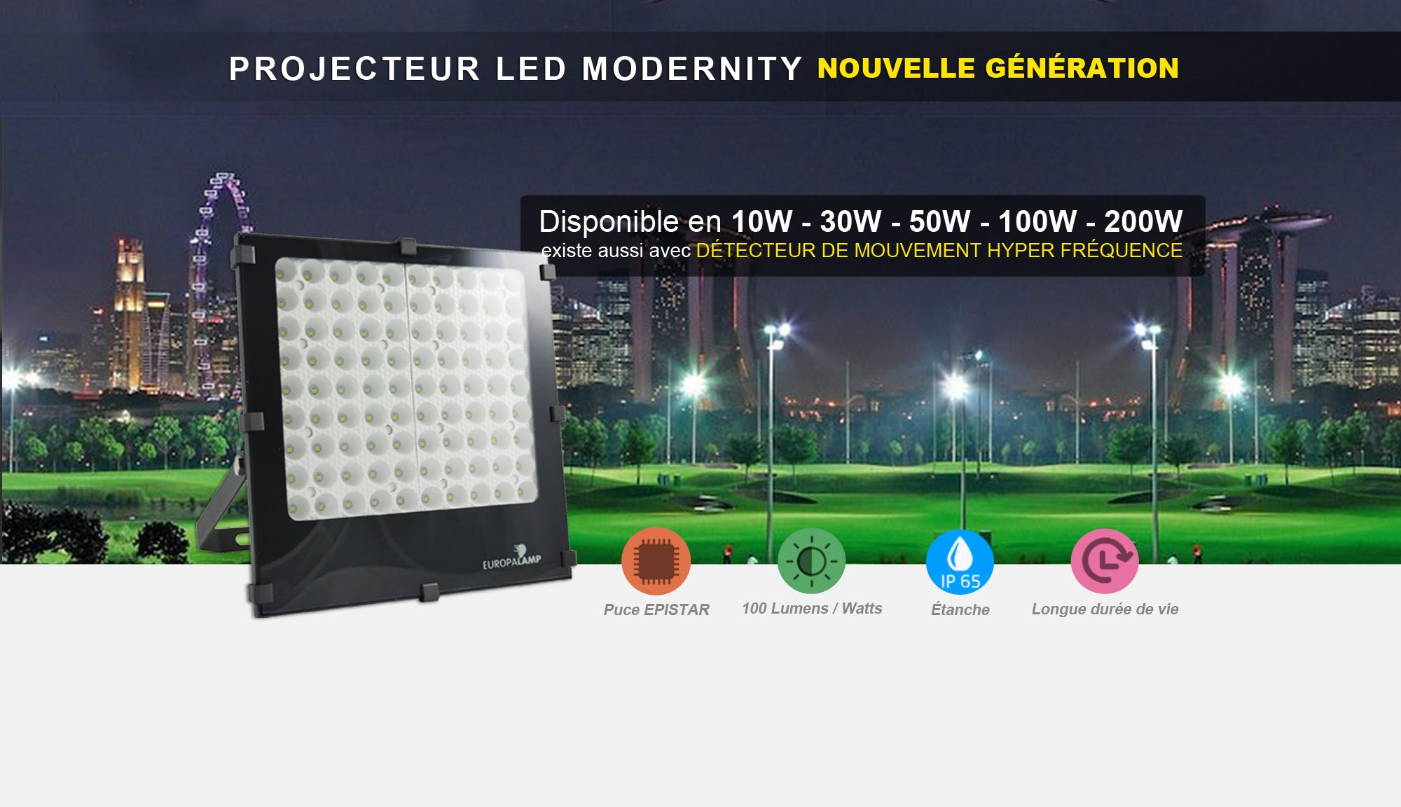 Projecteur LED Modernity