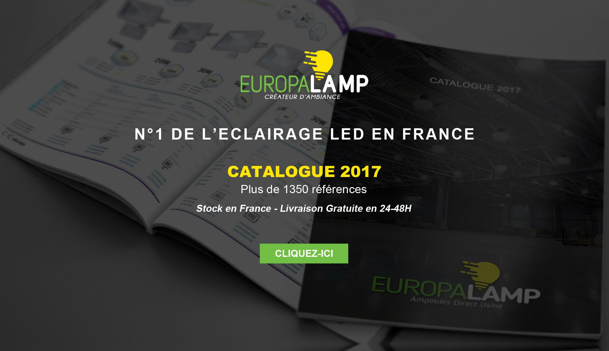 Europalamp N°1 de l'Eclairage LED en France