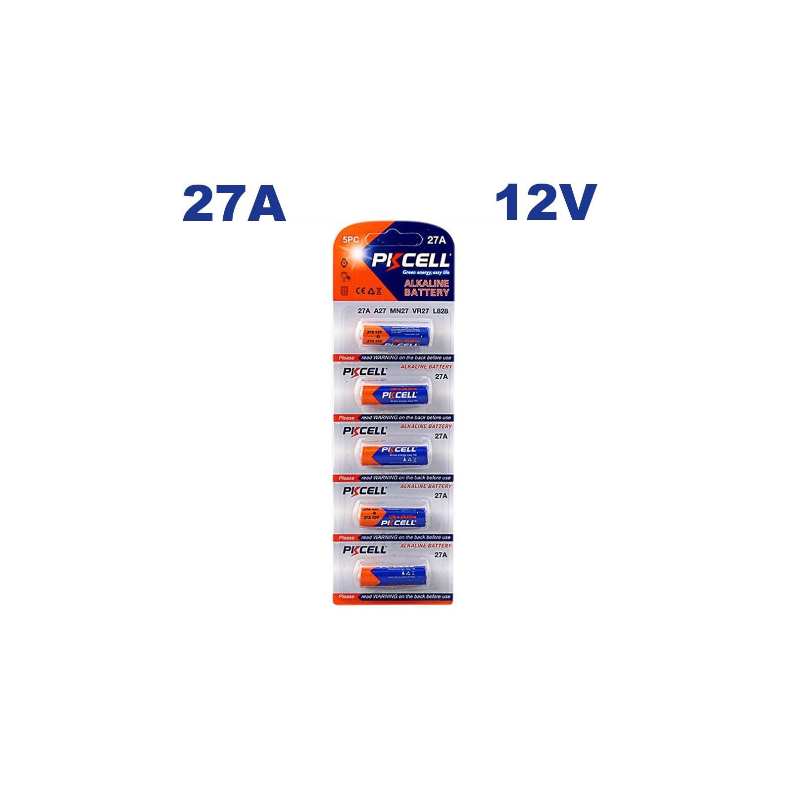 5 Piles 27A 12V Ultra Alcaline PKCell