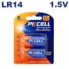2 Piles LR14 Ultra Alcaline PKCell 1.5V