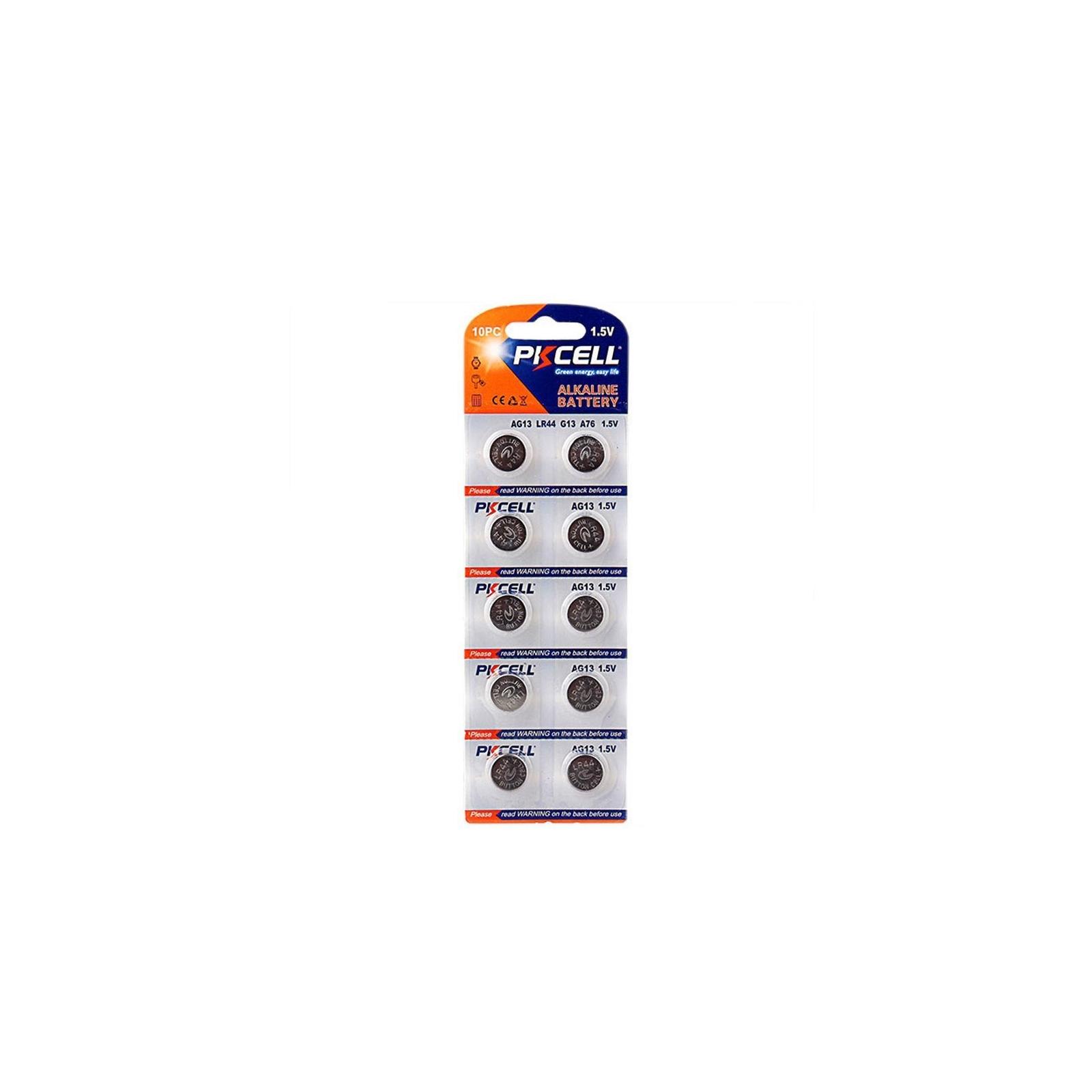 10 Piles Bouton AG13 Super Alcaline 1.5V PKCell