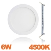 Spot Encastrable LED Downlight Panel Extra-Plat 6W Blanc Neutre 4500K