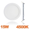 Spot Encastrable LED Downlight Panel Extra-Plat 15W Blanc Neutre 4500K