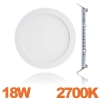 Spot Encastrable LED Downlight Panel Extra-Plat 18W Blanc Chaud 2700k