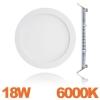 Spot Encastrable LED Downlight Panel Extra-Plat 18W Blanc Froid 6000K