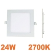 Spot Encastrable LED Carre Downlight Panel Extra-Plat 25W Blanc Chaud 2700k