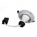 Lot 20 Spots encastrable orientable BLANC avec GU10 LED de 7W eqv. 56W