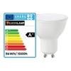 Lot 10 Supports Spots BBC INOX + Ampoule GU10 5W Blanc Chaud + Douille