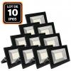 Lot de 5 Projecteurs Led 10W Ipad 3000k Haute Luminosité
