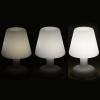 LAMPE DE TABLE LED TYPE FATBOY 26 CM RECHARGE SOLAIRE