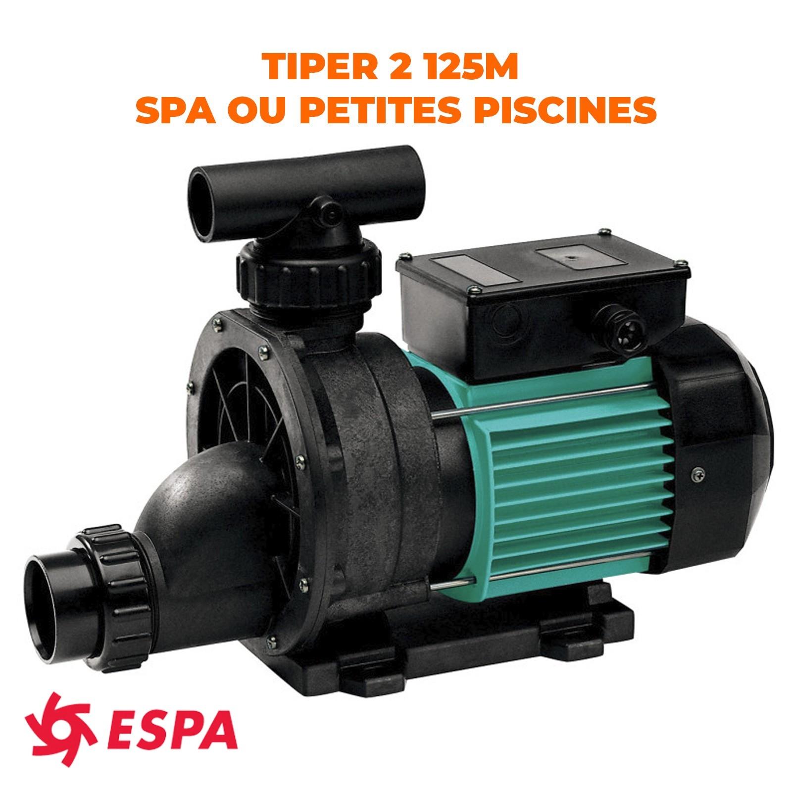 TIPER 125M ESPA POMPE SPA OU PETITE PISCINE