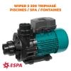 WIPER3 300 TRIPHASÉ ESPA POMPE PISCINE / SPA / FONTAINES ET JEUX AQUATIQUES