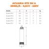 ESPA Pompe à eau submersible pour l'approvisionnement en eau ACUARIA 07S 3M A