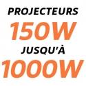 Projecteurs LED Industriels 150W - 1000W