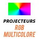 Projecteur LED RGB Multicolore