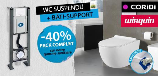Cuvettes WC Bati Support