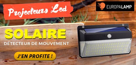 Projecteurs LED Solaire